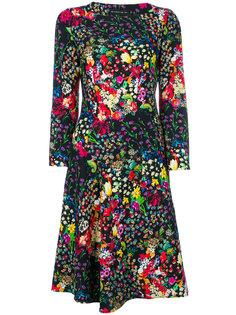 платье миди с цветочным принтом  Etro