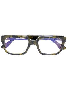 камуфляжные очки в квадратной оправе Cutler & Gross