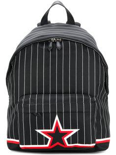 рюкзак в полоску Givenchy