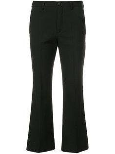 укороченные брюки  Miu Miu