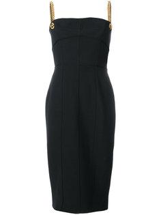 платье-миди с цепочными лямками Tom Ford