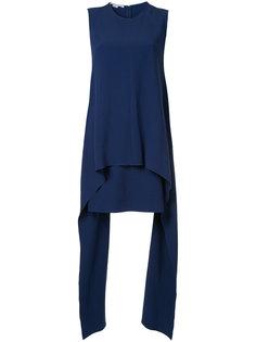 асимметричное платье миди Stella McCartney