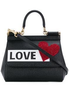 Love shoulder bag Dolce & Gabbana