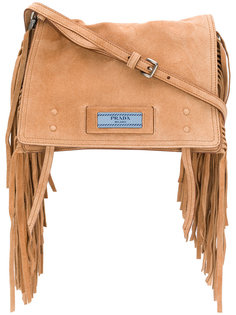 сумка на плечо Etiquette с бахромой Prada