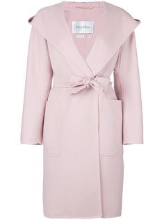 пальто с капюшоном Mozart Max Mara