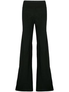 брюки с поясом в рубчик  Rick Owens