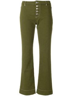 укороченные джинсы  Alexa Chung