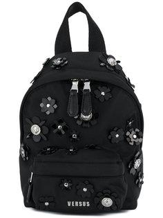 мини-рюкзак с цветочным украшением Versus