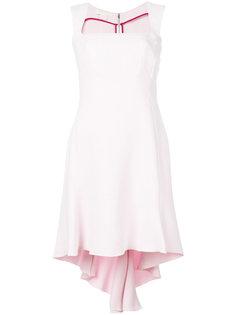 асимметричное приталенное платье  Antonio Berardi