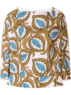оверсайз-блузка с принтом  Marni