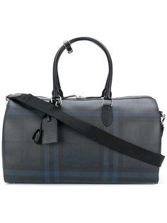 дорожная сумка в клетку Burberry