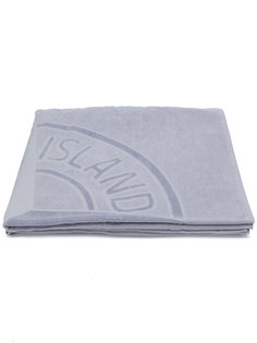 пляжное полотенце с логотипом Stone Island