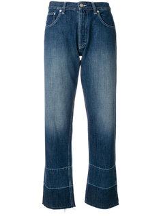 джинсы с вышивкой  Loewe