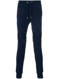 спортивные брюки в байкерском стиле Balmain