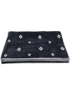 пляжное полотенце с крестообразным принтом  Marcelo Burlon County Of Milan