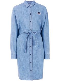 джинсовое платье-рубашка Kenzo