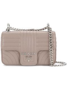 стеганая сумка на плечо  Prada