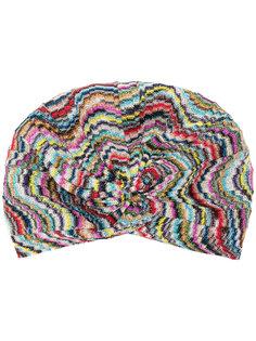 шапка с принтом Missoni