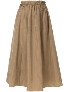 длинная пышная юбка Kenzo