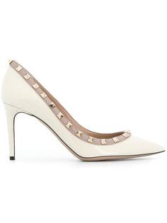 туфли-лодочки с заостренным носком Rockstud Valentino