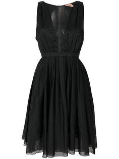 платье с присборенной пышной юбкой  Nº21