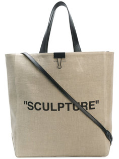 Sculpture tote bag Off-White