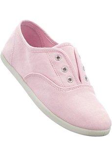 Кеды (нежно-розовый с рисунком) Bonprix