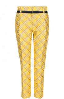 Укороченные жаккардовые брюки с карманами Dsquared2