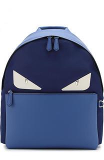 Текстильный рюкзак с отделкой Bag Bugs Fendi