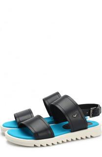 Кожаные сандалии Armani Junior