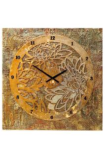 "Настенные часы ""Пионовый сад"" MARIARTY"
