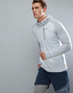 Худи серого цвета Nike Running Therma Spehere Element 859222-043 - Серый
