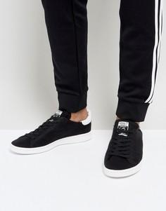 Черные кроссовки adidas Originals Stan Smith BZ0118 - Черный