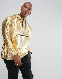Золотистая куртка металлик adidas Originals St Petersburg Pack Fontanka BQ2000 - Золотой