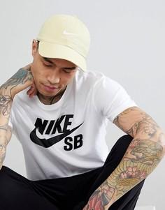 Желтая кепка Nike SB 828635-721 - Желтый