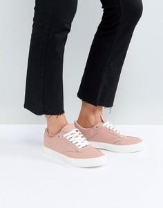 Кроссовки на шнуровке ASOS DOLCETTO - Розовый