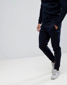 Темно-синие джоггеры с логотипом Emporio Armani SUIT 15 - Темно-синий