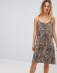 Платье со шнурком на талии Vero Moda - Мульти