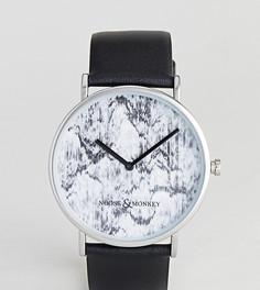 Часы с кожаным ремешком Noose & Monkey - Черный