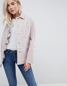 Куртка с оборками ASOS - Розовый