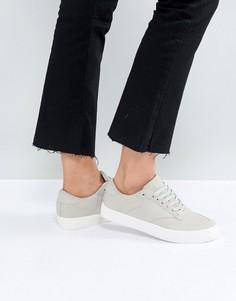 Кроссовки на шнуровке ASOS DOLCETTO - Серый