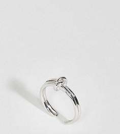 Кольцо с покрытием серебром 18 кт Olivia Burton Forget Me Knot - Серебряный
