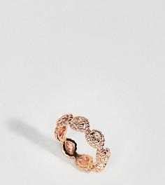 Кольцо с цветком Olivia Burton - Золотой