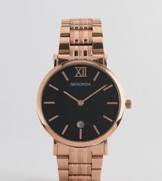 Розово-золотистые часы-браслет Sekonda эксклюзивно для ASOS - Золотой