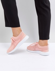Кроссовки на шнуровке ASOS DELTA - Розовый