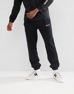 Черные джоггеры с логотипом Huf Original - Черный