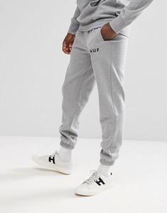 Серые джоггеры с логотипом Huf Original - Серый