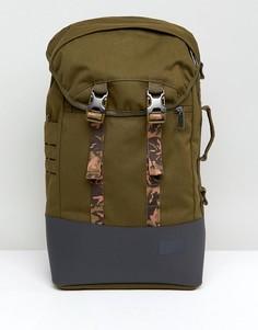 Рюкзак объемом 20 л с камуфляжным принтом Eastpak - Зеленый