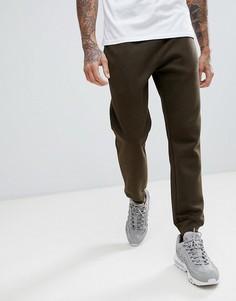 Меланжевые джоггеры цвета хаки New Look - Серый