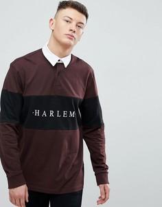 Бордовое поло New Look Harlem - Красный